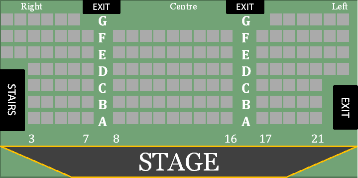 Firehall Seating Chart
