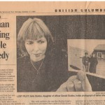 Sally Stubbs-Oct 17 1994 Sun Article